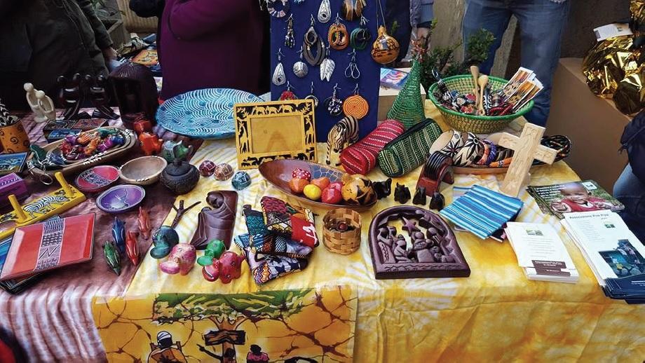 mostra manufatti africani